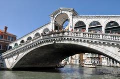 Ponte de Rialto, Veneza, Itlay Foto de Stock