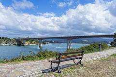 Ponte de Ribadeo Foto de Stock Royalty Free