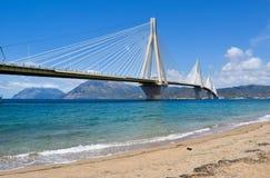 """Ponte de Rio†""""Antirrio, Grécia foto de stock"""