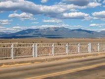 Ponte de Rio Grande Gorge em New mexico foto de stock royalty free