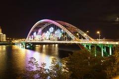 Ponte de Rosa Fotos de Stock