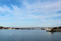 Ponte de Sakonnet imagem de stock