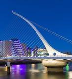 A ponte de Samuel Beckett em Dublin foto de stock