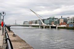 Ponte de Samuel Beckett em Dublin, Ireland Imagem de Stock