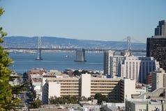 Ponte de San Francisco Bay Fotos de Stock Royalty Free