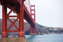 Ponte de San Francisco Bay Area Golden Gate Fotos de Stock Royalty Free