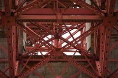 Ponte de San Francisco Bay Area Golden Gate Fotografia de Stock