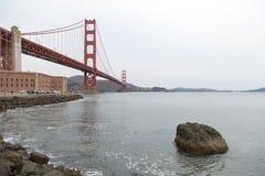 Ponte de San Francisco Bay Area Golden Gate Fotos de Stock