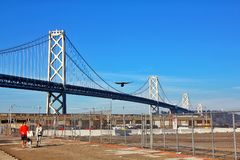 Ponte de San Francisco Bay fotografia de stock royalty free