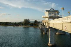 A ponte de Sarasin fotos de stock