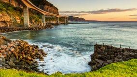 Ponte de Seacliff foto de stock