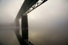 Ponte de Sellwood em Portland, Oregon. Fotografia de Stock Royalty Free