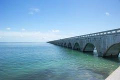 A ponte de sete milhas Imagem de Stock