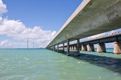 Ponte de sete milhas Foto de Stock