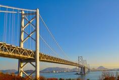 Ponte de Seto Ohashi, Japão Fotografia de Stock