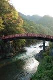 A ponte de Shinkyo de Nikko, Japão imagem de stock royalty free
