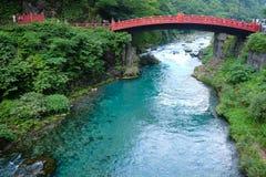 Ponte de Shinkyo em Nikko, Japão foto de stock royalty free