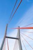 Ponte de Siekierkowski, Varsóvia, Polônia Imagens de Stock