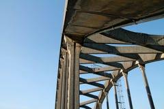 Ponte de Siuslaw em Florença, Oregon Fotos de Stock Royalty Free