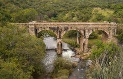 Ponte de Steenkamp fora da cidade de Lydenburg em África do Sul Imagem de Stock