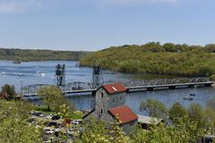 Ponte de Stillwater Fotografia de Stock