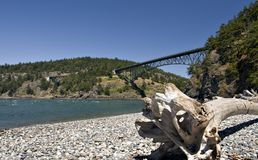 Ponte de suspensão Imagem de Stock