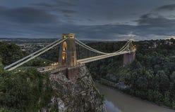 A ponte de suspensão Imagem de Stock