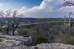 A ponte de suspensão 2 da regência fotografia de stock royalty free