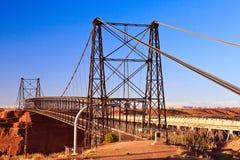Ponte de suspensão de Cameron Imagens de Stock