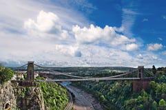 Ponte de suspensão de Clifton. Imagens de Stock
