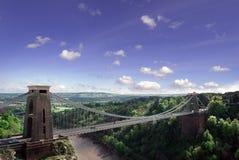 Ponte de suspensão de Clifton. Imagem de Stock