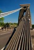Ponte de suspensão de Clifton, Bristol, Inglaterra Foto de Stock Royalty Free