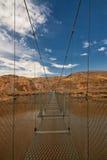 Ponte de suspensão de Rosedale Imagem de Stock Royalty Free