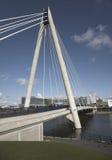 Ponte de suspensão em Southport Reino Unido Imagem de Stock Royalty Free