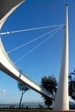 Ponte de suspensão na universidade de Xiamen Fotos de Stock