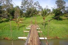 Ponte de Suspention Fotografia de Stock Royalty Free