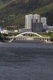 Ponte de TAIAN DAQIAO em Dali City, Yunnan China fotos de stock royalty free
