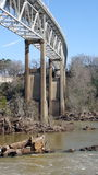 Ponte de Tallassee Fotografia de Stock Royalty Free