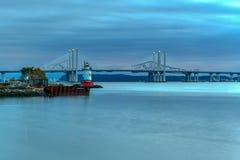 Ponte de Tappan Zee - New York fotografia de stock