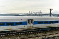 Ponte de Tappan Zee - New York foto de stock