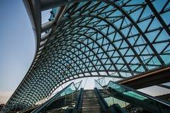 Ponte de Tbilisi da paz Imagem de Stock Royalty Free