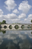 Ponte de Tiberius em Rimini Imagens de Stock Royalty Free
