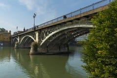 Ponte de Triana imagem de stock royalty free