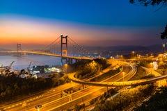 Ponte de Tsing miliampère Fotografia de Stock Royalty Free