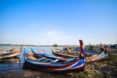 Ponte de U Bein, Myanmar Imagem de Stock
