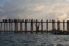 Ponte de Ubein Imagens de Stock Royalty Free