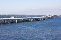 Ponte de um estado a outro Fotos de Stock Royalty Free