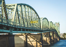 Ponte 5 de um estado a outro em Portland, Oregon Imagens de Stock
