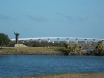 Ponte de Usina Fotografia de Stock
