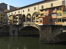 Ponte de Vecchio Bridge in Florence Royalty Free Stock Photo